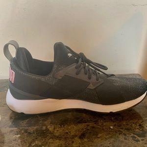 Puma sneakers.   Color: Grey  Size 8 1/2